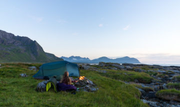 Helsport Lofoten, turjenter, Flakstad