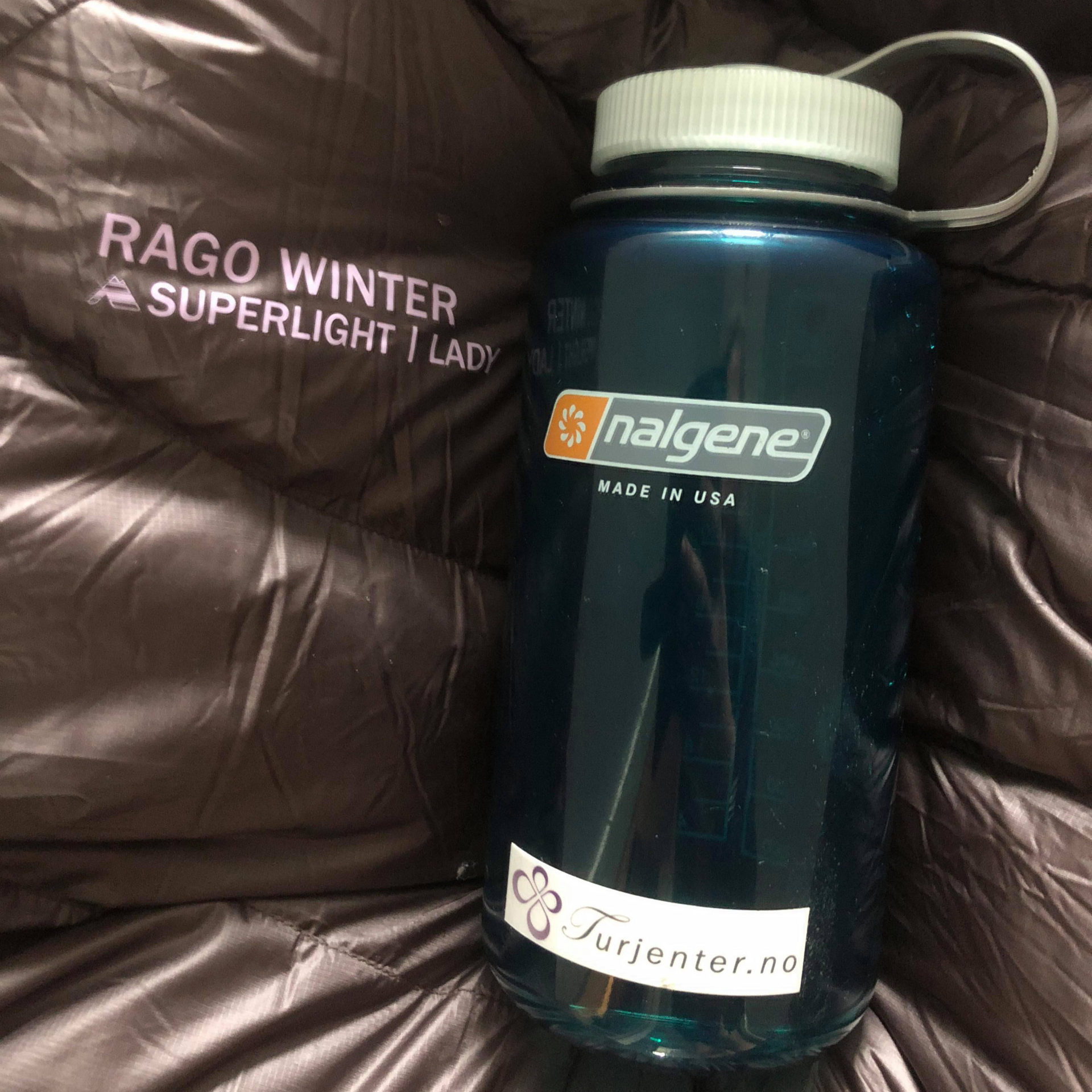 Rago Superlight Winter Lady Og Nalgene Varmeflaske
